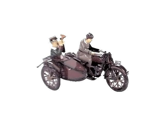 Alexander Taron Motorcycle With Passenger In Sidecar 3.75