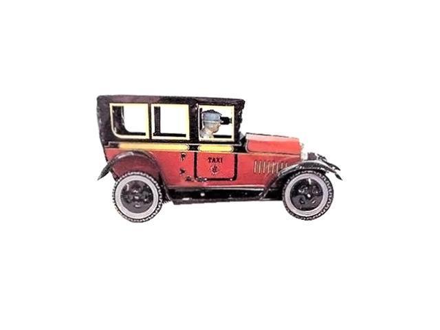 Alexander Taron Collectible Tin Toy Taxi 3.25