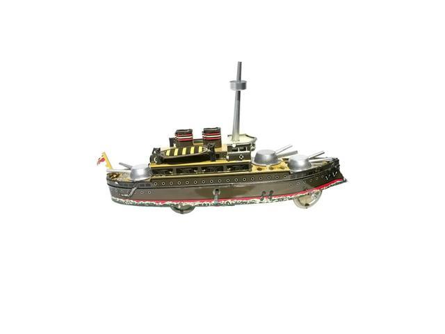 Alexander Taron Collectible Tin Toy Battleship 4.5