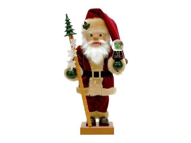 Alexander Taron Christian Ulbricht Nutcracker Snow Globe Santa Ltd Edition 3000 Pcs 18.5