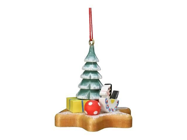 Alexander Taron Home Decoration Christian Ulbricht Ornament - Xmas Tree On Star - 2H X 2W X 2D