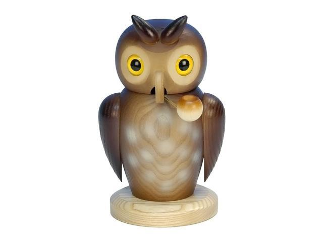 Christian Ulbricht Incense Burner - Owl - 7H X 4.25W X 4.5D