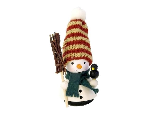 Alexander Taron Holiday Decoration Gift Accessories Christian Ulbricht Ornament Snowman (No String) 4.25H X 2W X 2D