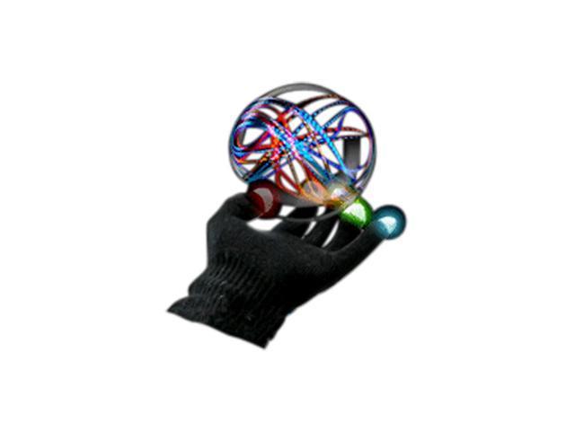 Blinkee Halloween Holiday Dance Party Costume LED Black Rave Gloves Rainbow LEDs