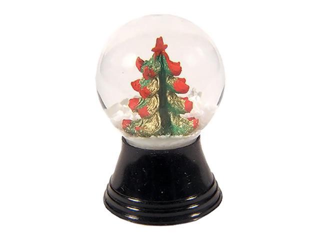 Alexander Taron PR1169-Perzy Snowglobe, Mini Christmas Tree - 1.5