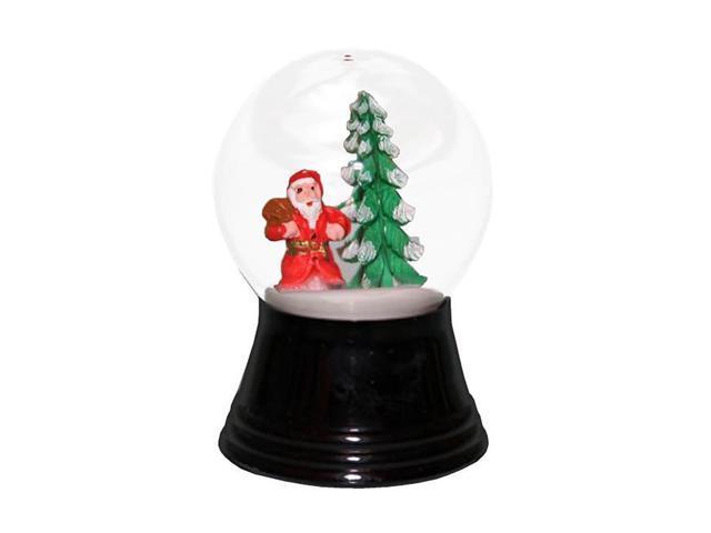 Alexander Taron Perzy Snowglobe Small Santa with Tree - 2.75