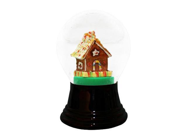Alexander Taron Perzy Snowglobe Medium Gingerbread House - 5