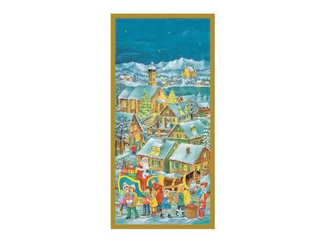 Korsch Advent - Santa with Sleigh - 23.75