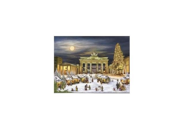Alexander Taron Home Seasonal Decorative Accessories Bruck & Sohn Advent - Scene from city of Berlin - 10.5