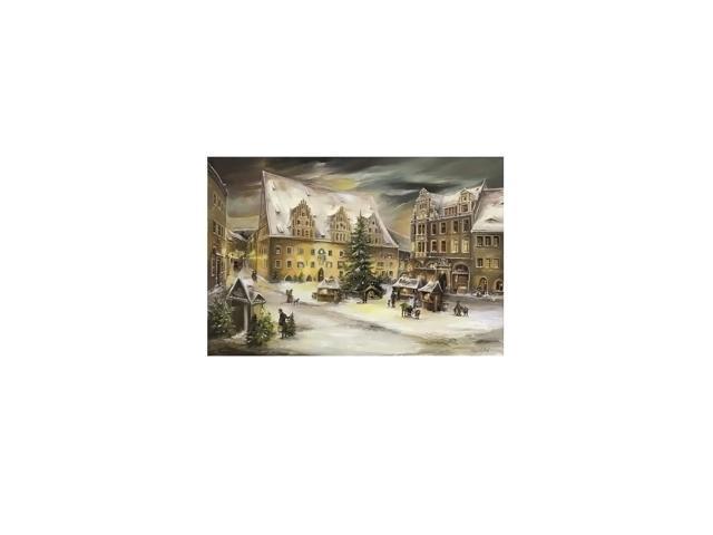 Alexander Taron Home Seasonal Decorative Accessories Bruck & Sohn Advent - Scene from city of Meissen - 10.5