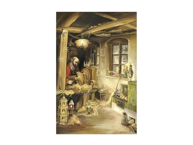 Alexander Taron Home Seasonal Decorative Accessories Bruck & Sohn Advent - Scene in