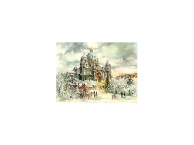 Alexander Taron Home Seasonal Decorative Accessories Bruck & Sohn Advent - Scene from city of Berlin - 10.5