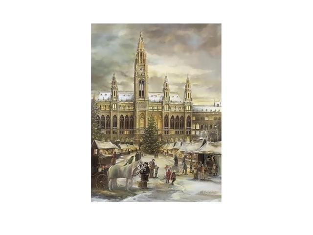 Alexander Taron Home Seasonal Decorative Accessories Bruck & Sohn Advent - Scene from city of Vienna - 15