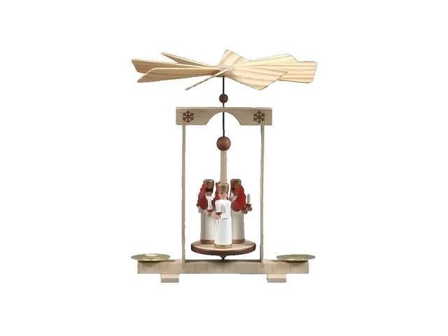 Alexander Taron Home Seasonal Decorative Accessories Dregeno Pyramid - Angels holding Candles - 5