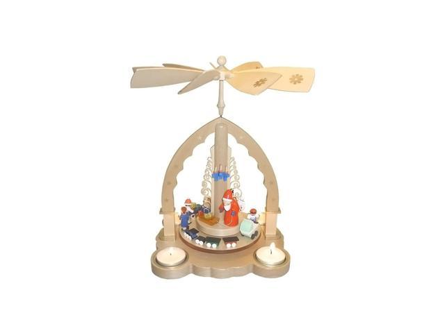 16097-Richard Glaesser Pyramid - Santa and Toys - 10.5