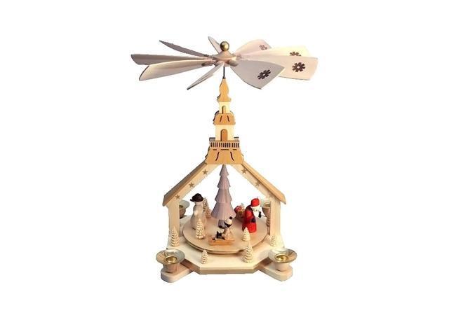 Richard Glaesser Pyramid - Santa, Snowman and Child - 12