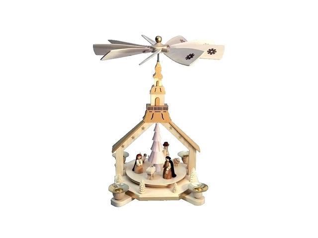 Richard Glaesser Pyramid - Nativity Scene - 11.875