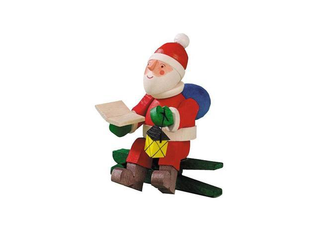 Graupner Ornament - Santa Clip-on with Lantern - 2.25