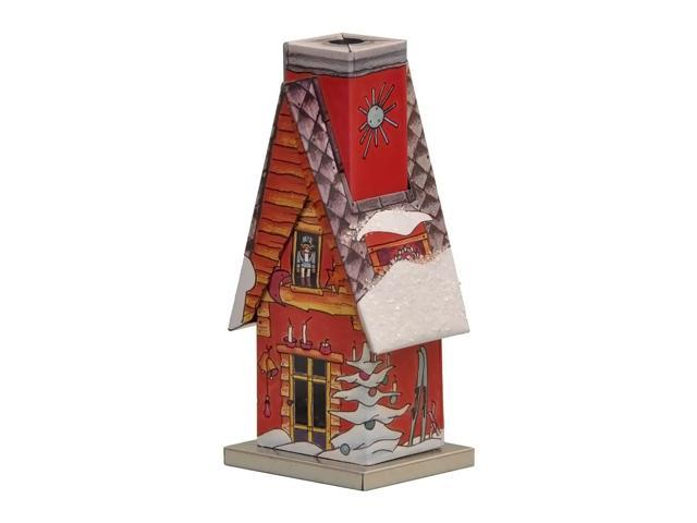 Knox Metal Incense House - Winter scene - 4.75