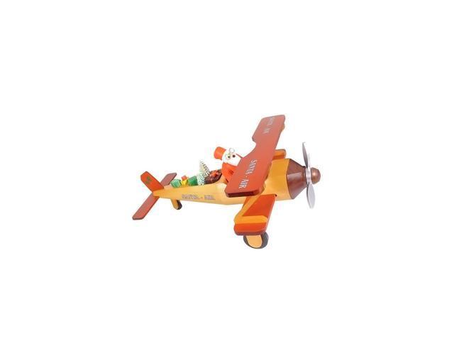 Richard Glaesser Incense Burner - Santa in Plane - 5.25