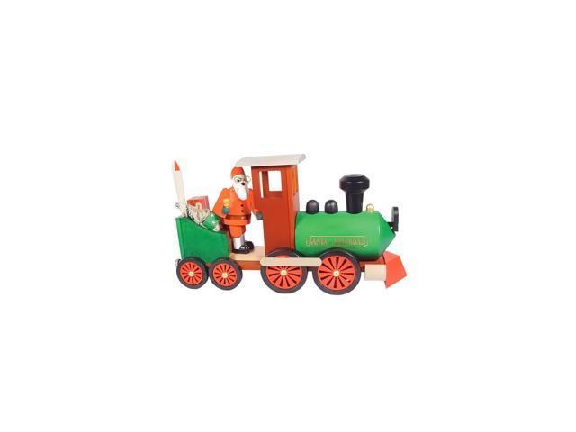 Richard Glaesser Incense Burner - Santa in Train - 7