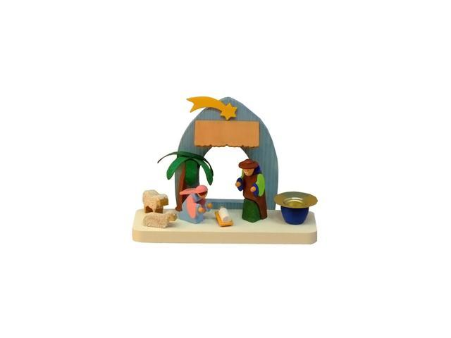 Graupner Ornament - Nativity Scene Candleholder - 4
