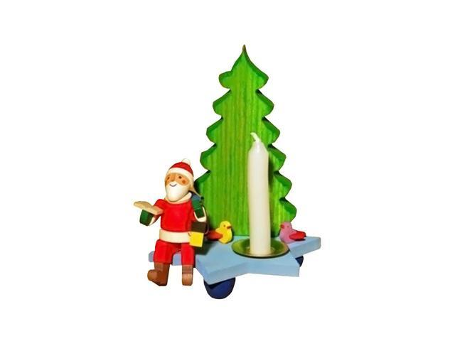 Graupner Ornament - Santa in front of a Christmas Tree - 3.5