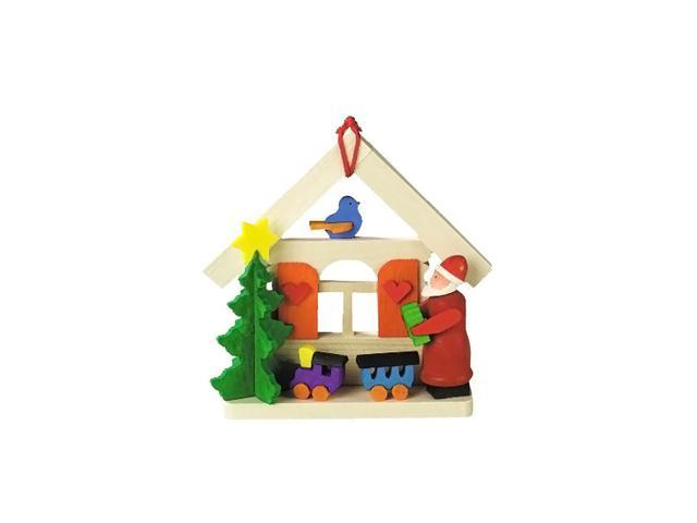 Graupner Ornament - Santa with Train/House