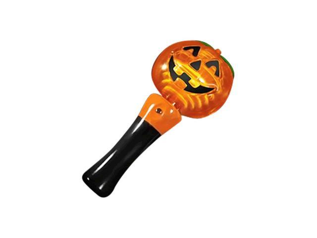 Blinkee Halloween Party Decorative Pumpkin Wand with Spinning Lights