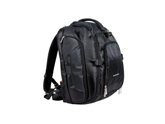 Monoprice DSLR Camera/15.6 inch Laptop Backpack - Black