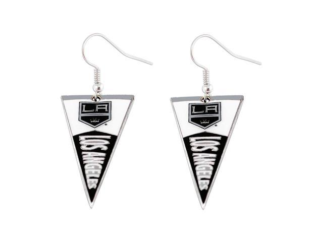 NHL LA Los Angeles Kings Pennant Earring Charm Gift Set