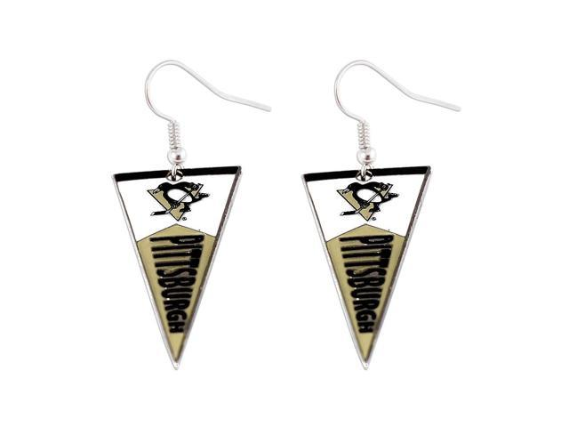 NHL Pittsburgh Penguins Pennant Earring Charm Gift Set
