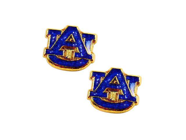 NCAA Auburn Tigers AU Glitter Post Stud Earring Charm Gift Set