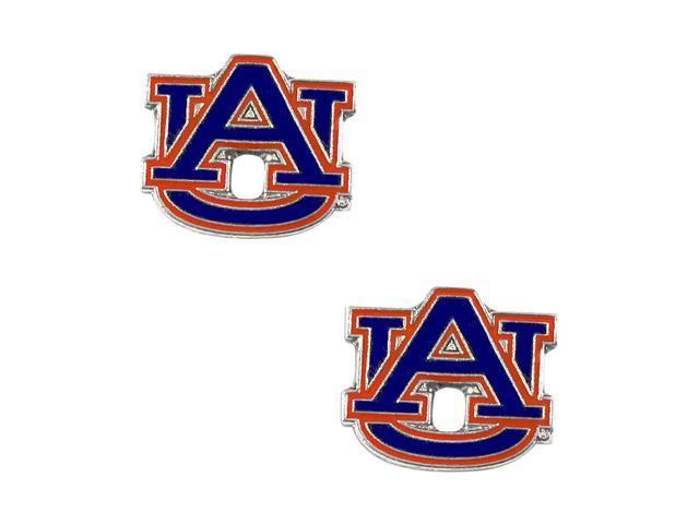 NCAA Auburn Tigers Post Stud Earring Charm Gift Set