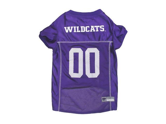 Pets First Sports Team Logo Kansas State Dog Jersey Large