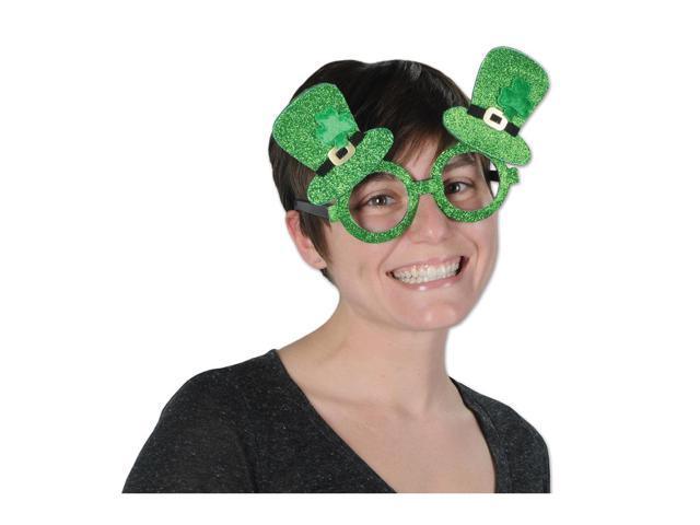 Beistle Home Party Supplies Glittered Leprechaun Hat Glasses