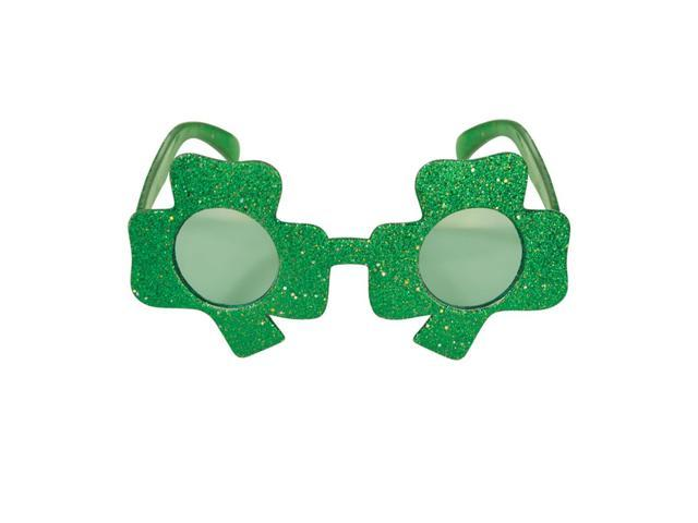 Beistle 30363 Home Party Supplies Glittered Shamrock Fanci-Frames