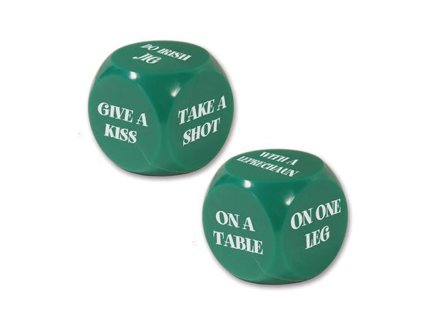 Beistle Home Party Supplies St Patrick Decision Dice Game