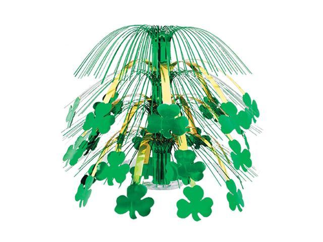 Beistle Home Party Supplies Shamrock Cascade Centerpiece 18