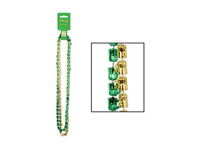 Beistle Home Party Supplies St Patrick Mug Beads 33