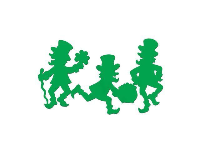 Beistle Home Party Supplies Leprechaun Silhouettes 17