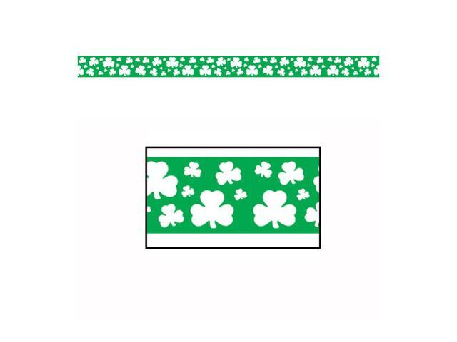 Beistle Home Party Supplies Shamrock Party Tape 3
