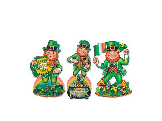 Beistle Home Party Supplies Pkgd St Patrick's Day Cutouts 18