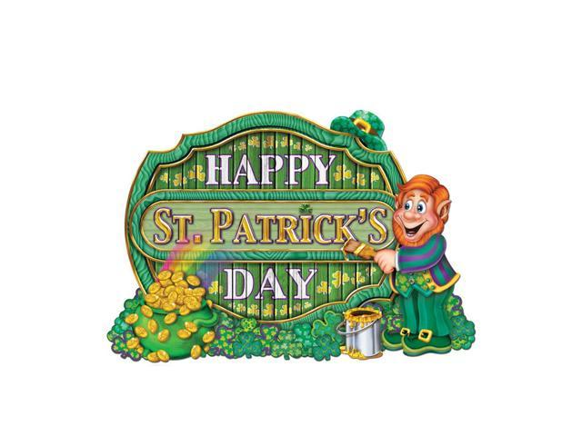 Beistle Home Party Supplies St Patrick Sign 11 1/2