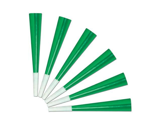 Beistle Home Party Supplies Green Foil Party Horns 9