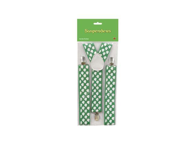 Beistle Home Party Supplies Shamrock Suspenders
