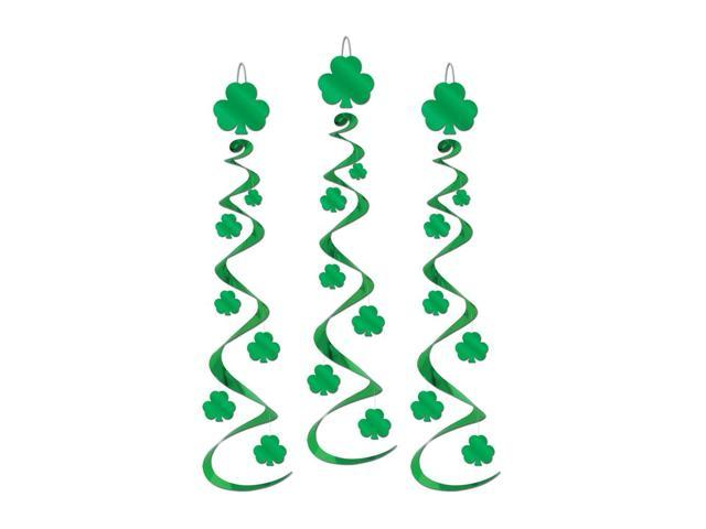 Beistle Home Party Supplies Shamrock Whirls 30