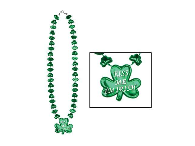 Beistle Home Party Supplies Shamrock Necklace 22