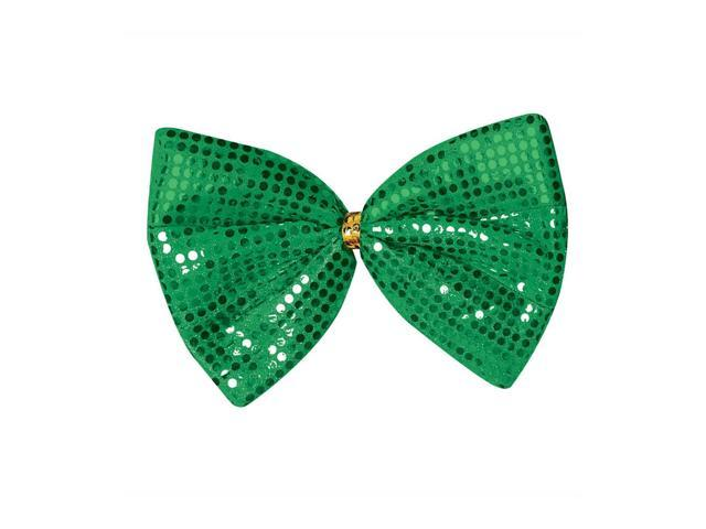 Beistle Party Supplies Jumbo St Patrick Glitz 'N Gleam Bow Tie 8 1/2