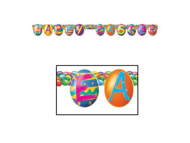 Beistle Home Party Supplies Color Bright Egg Streamer 5